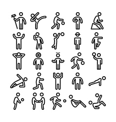 Pictograms icons 3 vector