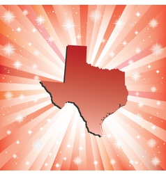 Red texas vector