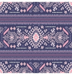 Tribal Mexican vintage ethnic seamless pattern vector image vector image