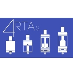 4 rtas set vector