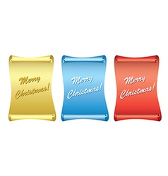 color backgrounds - papyrus - merry christmas vector image