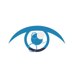 eye looking symbol vector image