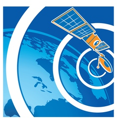 Satellite telecommunications vector