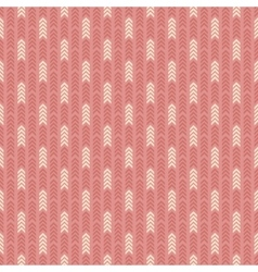 Geometric pattern with arrows seamless background vector