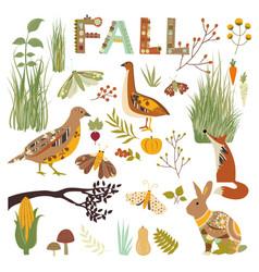 Autumn nature vector