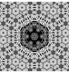 Creative ornamental grey pattern vector