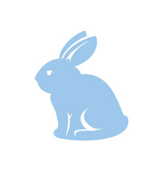 bunny animal nature vector image