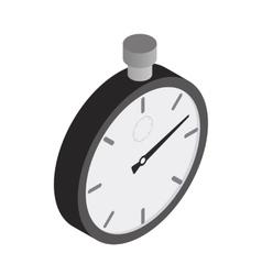 Stopwatch isometric 3d icon vector image