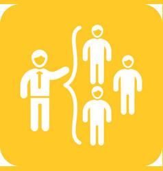 networking skills vector image