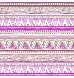 Seamless ethnic background Geometric bright vector image