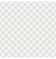 Vintage geometric line seamless pattern background vector image
