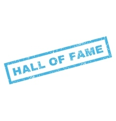 Hall of fame rubber stamp vector