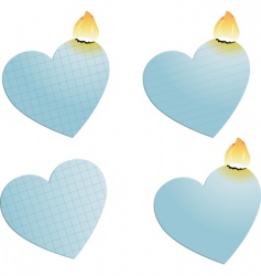 Heart burn vector