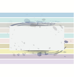 paper on pastel color background vector image
