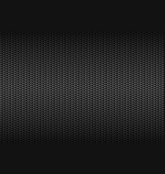 abstract dark grey carbon background metallic vector image vector image