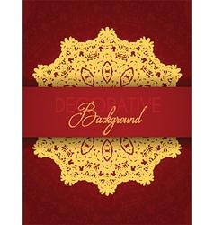 decorative background design 2005 vector image vector image