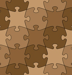 seamless puzzle - easy change color vector image
