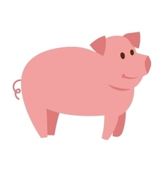 Pigs cartoon character vector
