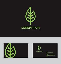 Abstract logo icon design business card template vector