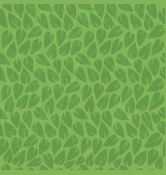 Abstract nature green leaf vintage background vector