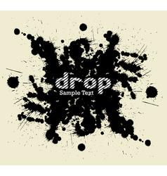 Drop blot vector