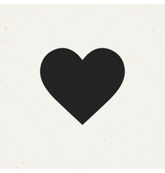 Isolated heart icon vector