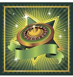 roulette vector image