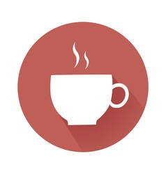Coffee cup symbol vector