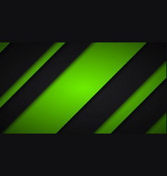 abstract black and green background diagonal vector image vector image