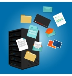file server data such as document image video vector image vector image