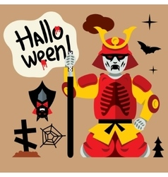 Halloween zombie cartoon vector