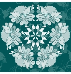 Seamless background pattern for cushion vector image vector image