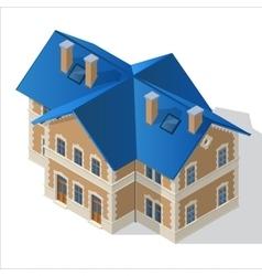 villa Isometric EPS10 vector image