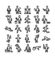 Pictograms icons 5 vector