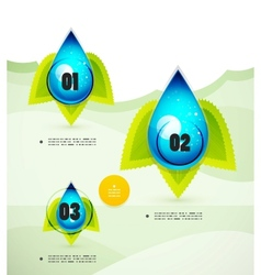 Option banner modern infographic vector