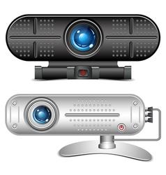 Web camera vector