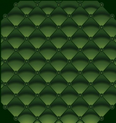 Green leather background vector