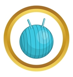 Children fitball icon vector