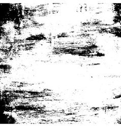 Grunge brush texture black white vector image