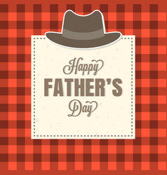 happy father day typographic vector image