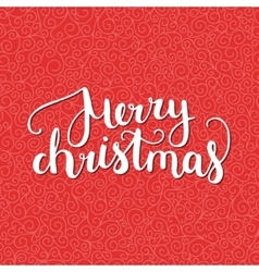Merry Christmas and Happy New Year card vector image vector image