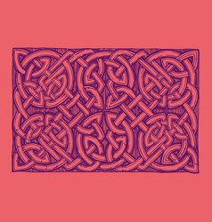 Traditional celtic pattern vector