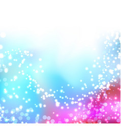 bright colorful shimmering seasonal background vector image