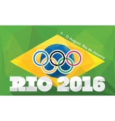 Rio 2016 olympic games vector