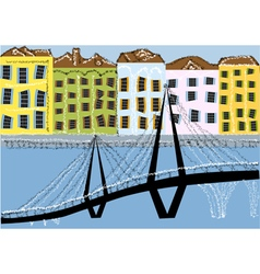 charleston south carolina vector image vector image