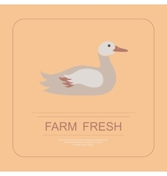 Logotype of farm fresh vector