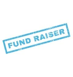 Fund raiser rubber stamp vector