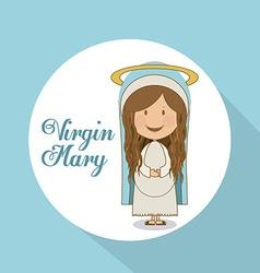 Religious design vector image