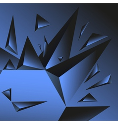 Crystal background vector
