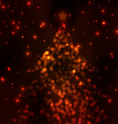 merry christmas elegant background 1 vector image